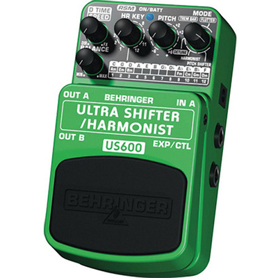 Behringer Ultra Shifter Harmonist US600 Effects Pedal