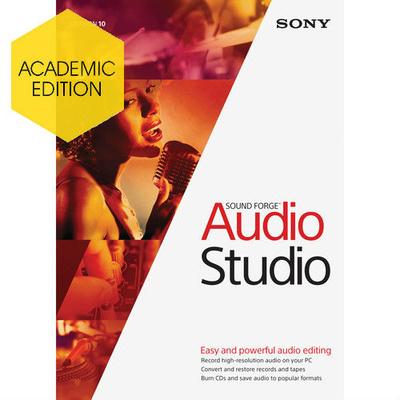 MAGIX Entertainment Sound Forge Audio Studio 10 - Academic (Download)