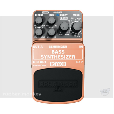 Behringer Bass Synthesizer BSY600 Effects Pedal