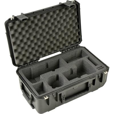 SKB iSeries 2011-7 Two DSLR with Lenses Case (Black)