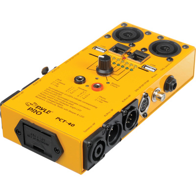 Pyle Pro PCT-40 12-in-1 Audio Cable Tester