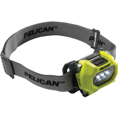 Pelican 2745 LED Headlight (Yellow)