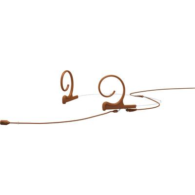 DPA Microphones FID88 2-Ear Cardioid Headset Microphone (Brown)