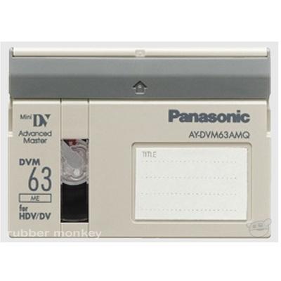 Panasonic Mini DV Tape 63 Minutes AMQ