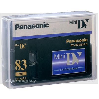 Panasonic Mini DV Tape 83 Minutes PQ