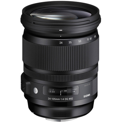 Sigma 24-105mm F/4 DG OS HSM Lens for Nikon DSLR Cameras