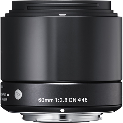 Sigma 60mm f/2.8 DN Lens for Micro Four Thirds Cameras (Black)