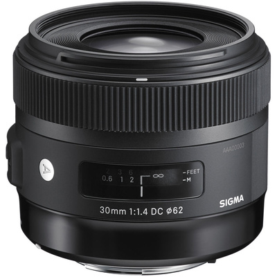 Sigma 30mm f/1.4 DC HSM Lens for Canon DSLR Cameras