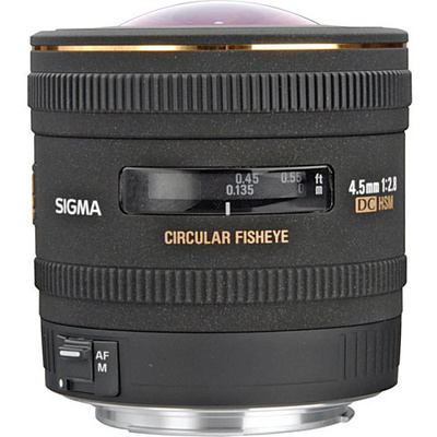 Sigma 4.5mm f/2.8 EX DC HSM Lens for Canon Digital SLR
