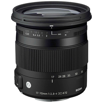 Sigma 17-70mm f/2.8-4 DC Macro OS HSM Lens for Nikon