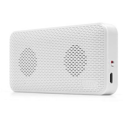 iLuv Aud Mini Bluetooth Speaker (White)