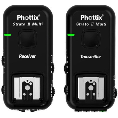Phottix Strato II Multi 5-in-1 Wireless Flash Trigger for Canon