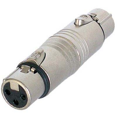 Neutrik NA3FF XLR Female to XLR Female Adapter