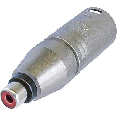 Neutrik NA2MPMF 3-Pole XLR Male to RCA Female Adapter