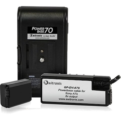 "Core SWX PB70-A7S PowerBase  Battery for Sony a7S (12"" Cable)"