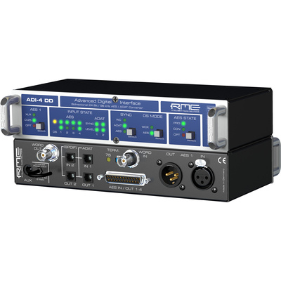 RME ADI-4 DD - 8 Channel, 24 Bit/96kHz Digital Interface and Dual Format Converter