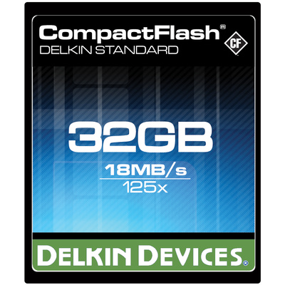Delkin Compact Flash Card 32GB CF