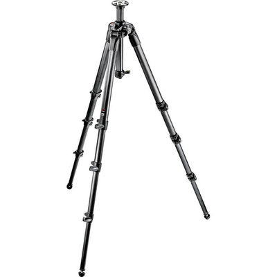 Manfrotto 057 - 4 Section Carbon Fiber Tripod (Geared)