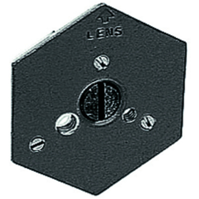Manfrotto 130-38 - Hexagonal Quick Release Plate