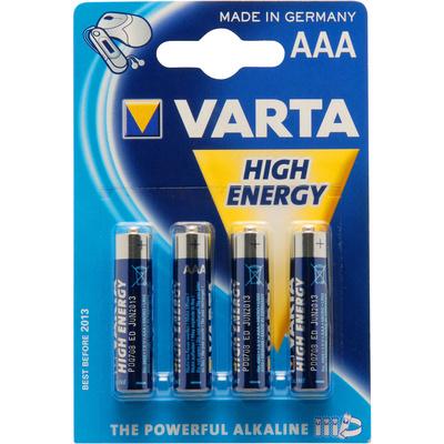 Varta AAA Alkaline High Energy - (4 Pack)