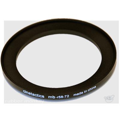 Cinetactics Step Up Ring 58-72mm
