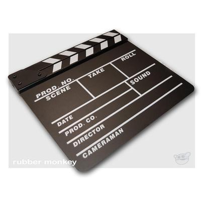 Pro Clapper Board Slate - Black board