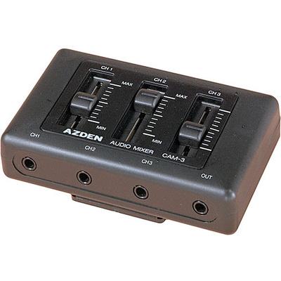 Azden CAM-3 Miniature 3 channel mixer