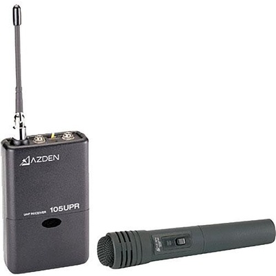 Azden 105HT - 105 Series UHF Wireless Microphone System with Handheld Transmitter