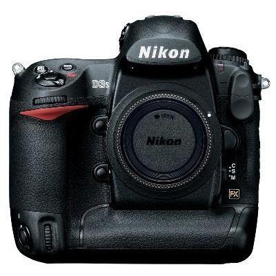 Nikon D3S Body Including Lexar CF8GB 300X Memory Card