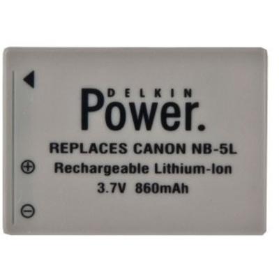 Delkin NB5L Battery for Canon Powershot