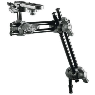 Manfrotto 396B-2 Double Articulated Arm - 2 Sections With Camera Bracket