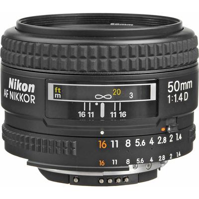 Nikon AF 50mm f1.4D Lens