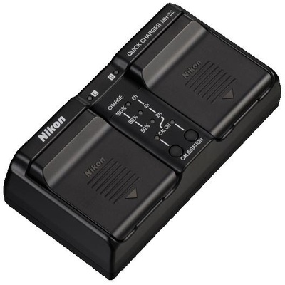 Nikon MH-22 Quick Charger for D3 Camera Batteries