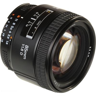 Nikon Telephoto AF 85mm f1.8D Lens