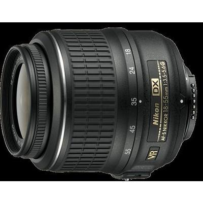 Nikon 18-55mm f3.5-5.6G Black Lens