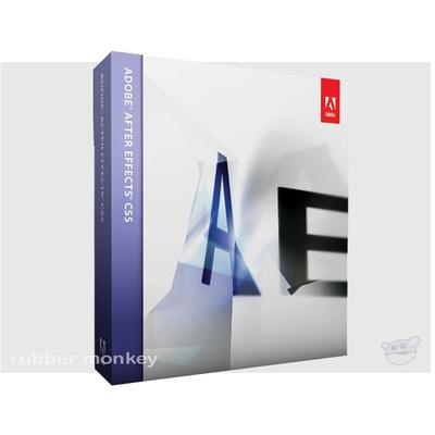 Adobe CS5 After Effects 10 Macintosh Educational