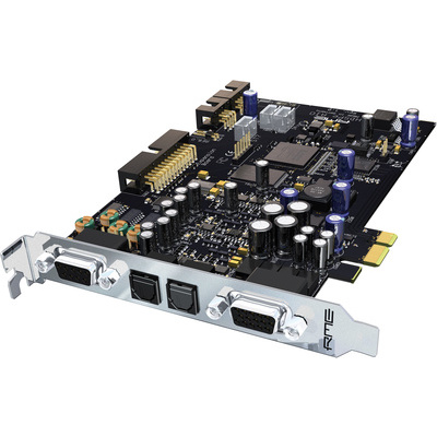 RME HDSPe AIO 38 channel audio card