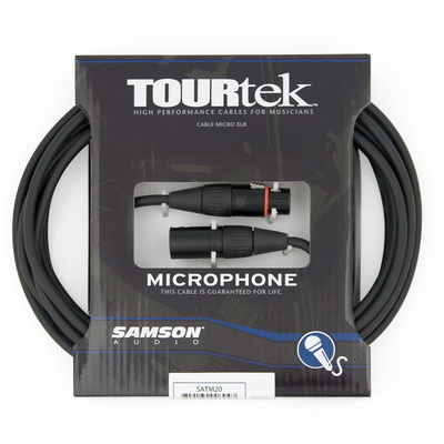 Samson Tourtek Mic Cable 3'