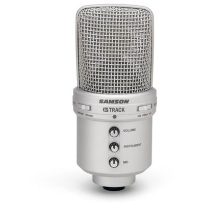 Samson G-Track USB Condenser Mic with Audio Interface