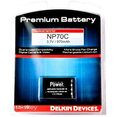 Delkin NP70C Battery