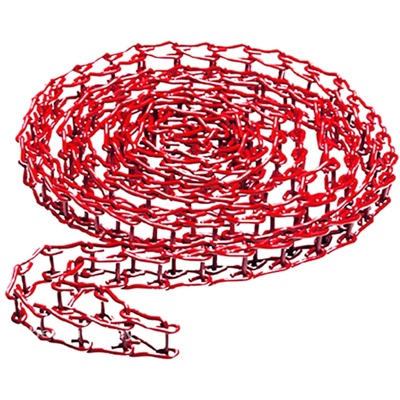 Manfrotto 091MCR Metal Chain for Expan Drive, Red (3.5m)
