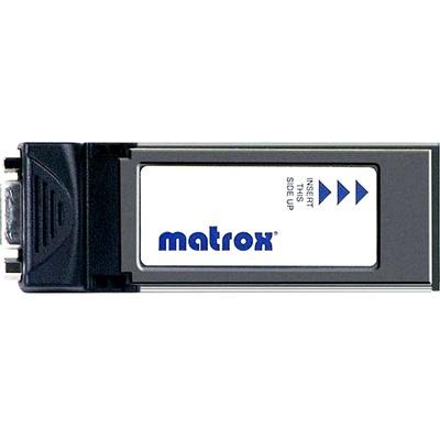 Matrox MXO2 PCIe Host Adaptor ExpressCard