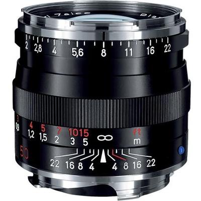 Zeiss Planar T* 50mm f/2 ZM SLR Lens (Black)
