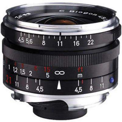 Zeiss C-Biogon T* 21mm f4.5 ZM SLR Lens BLACK