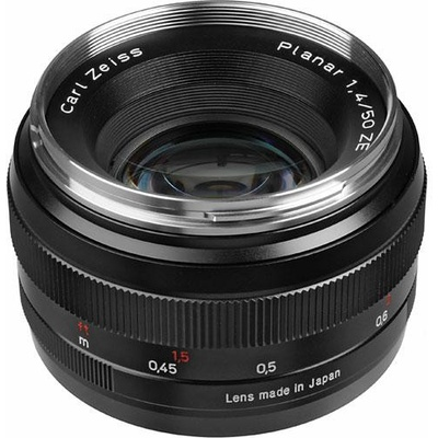 Zeiss Planar T* 50mm 1.4 ZE Canon EF Mount SLR Lens