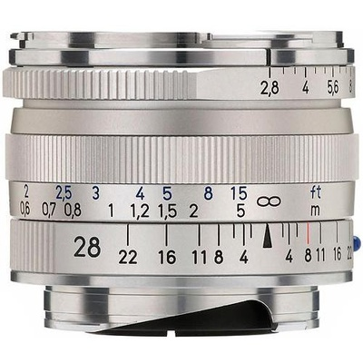 Zeiss Biogon T* 28mm f2.8 ZM Lens SILVER