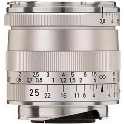 Zeiss Biogon T* 25mm f2.8 ZM SLR Lens SILVER