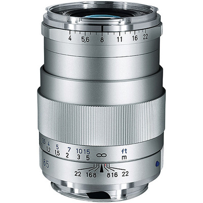 Zeiss Tele-Tessar T* 85mm f4 ZM SILVER