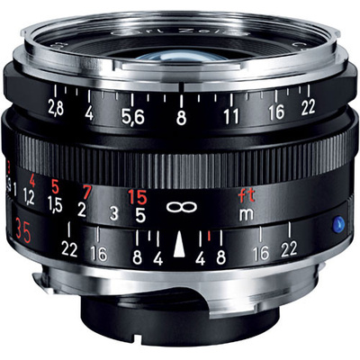 Zeiss C-Biogon T* 35mm f2.8 ZM SLR Lens BLACK