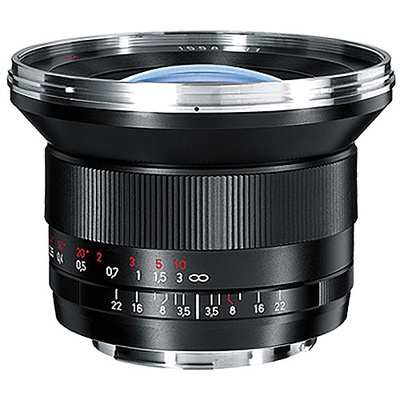 Zeiss Distagon T* 18mm f3.5 ZE Canon EF Mount SLR Lens
